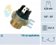 Temperature Switch, radiator fan