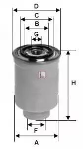 S 0410 NR - Kütusefilter