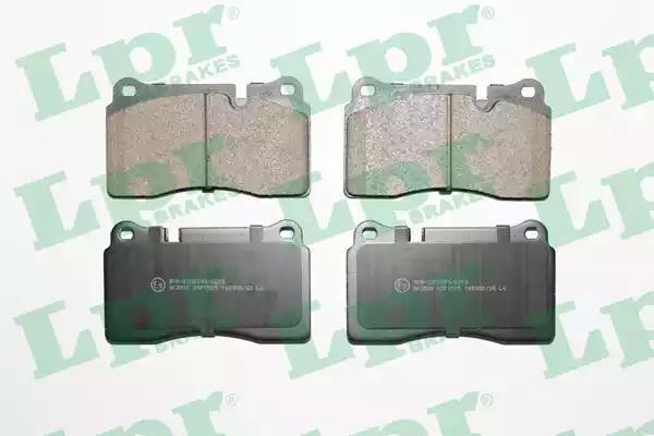 05P1505 - Brake Pad Set, disc brake