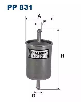 PP831 - Kütusefilter