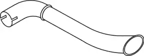 80705 - Exhaust pipe
