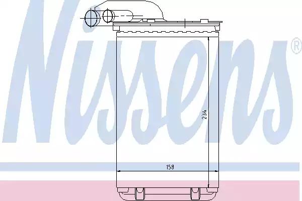 73252 - Heat Exchanger, interior heating