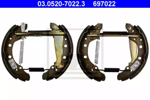 03.0520-7022.3 - Brake Shoe Set