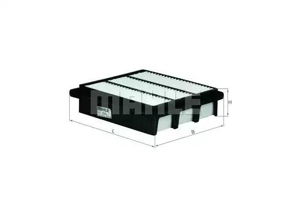 LX 2648 - Air filter