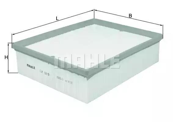 LX 819 - Air filter