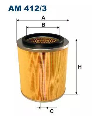 AM412/3 - Air filter