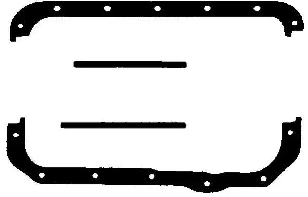 HC288 - Tihendikomplekt, Õlivann