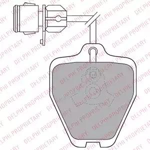 LP1463 - Brake Pad Set, disc brake