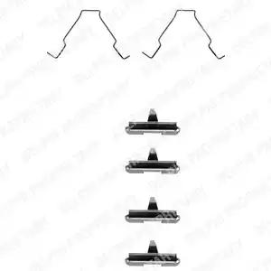 LX0267 - Lisakomplekt, ketaspiduriklotsid