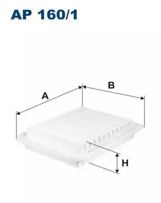 AP160/1 - Air filter