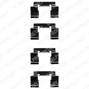 LX0337 - Lisakomplekt, ketaspiduriklotsid