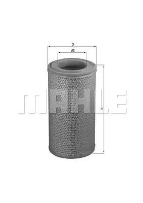 LX 1629 - Air filter