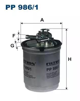 PP986/1 - Kütusefilter