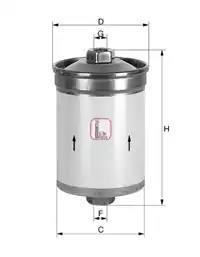 S 1502 B - Kütusefilter