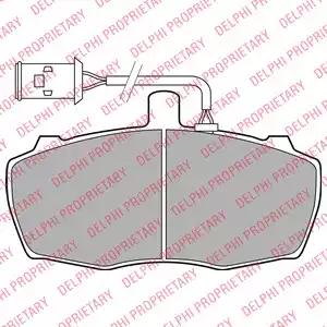 LP2023 - Brake Pad Set, disc brake