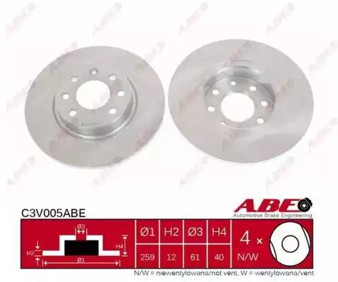 C3V005ABE - Brake Disc