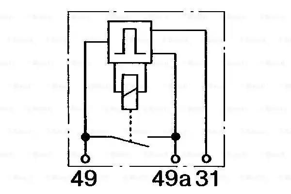 0 335 323 003 - Flasher Unit