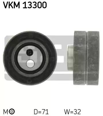 VKM 13300 - Tensioner Pulley, timing belt