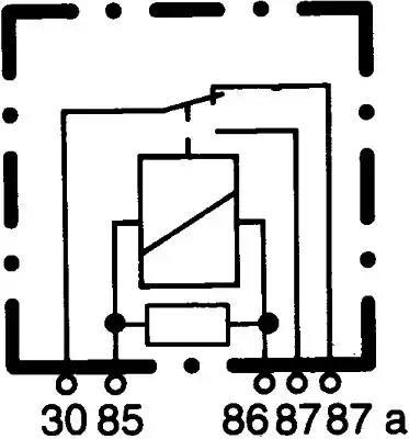 4RD 007 814-011 - Mitme funktsiooniga relee