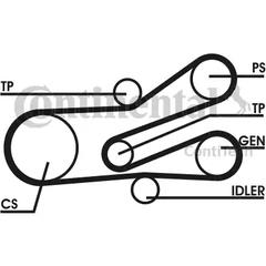 V-Ribbed Belt Set