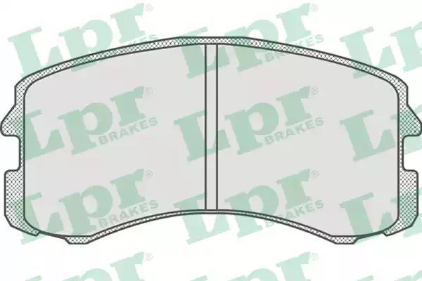 05P826 - Brake Pad Set, disc brake