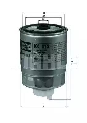 KC 112 - Kütusefilter