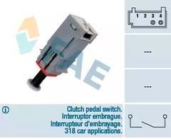 Switch, clutch control (cruise control)