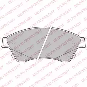LP2171 - Brake Pad Set, disc brake