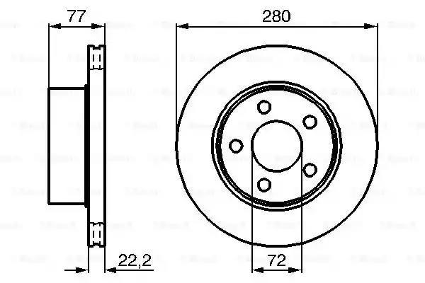 0 986 478 694 - Brake Disc