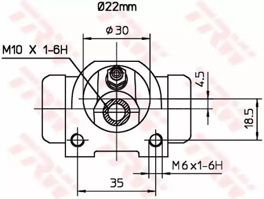 BWH376 - Wheel Brake Cylinder