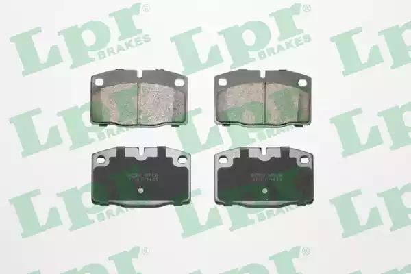 05P190 - Brake Pad Set, disc brake