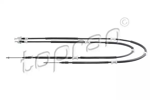 206 497 - Cable, parking brake