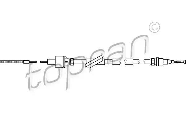 302 768 - Clutch Cable