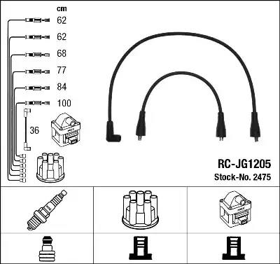2475 - Ignition Cable Kit