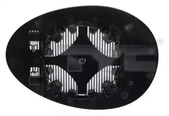 322-0006-1 - Mirror Glass, outside mirror