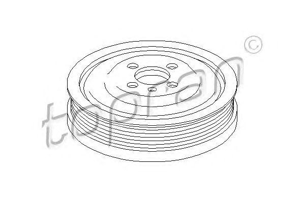 111 687 - Crankshaft pulley