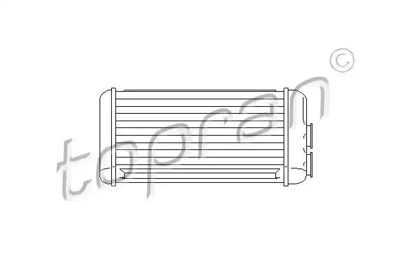 207 123 - Heat Exchanger, interior heating