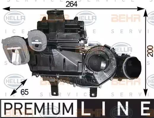 8FV351 330-171 - Evaporator, air conditioning