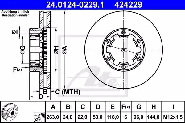 24.0124-0229.1 - Brake Disc