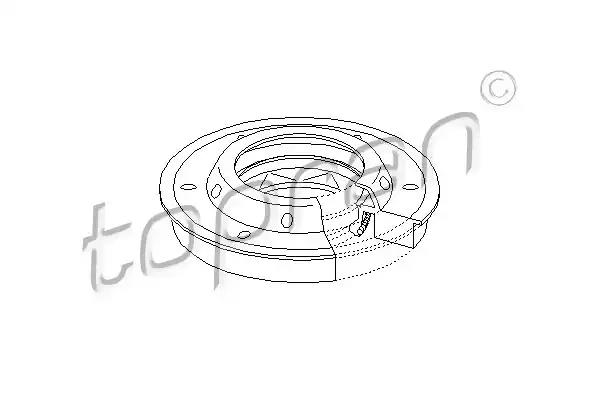 207 320 - Shaft Seal, differential