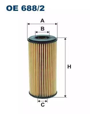 OE688/2 - Oil filter