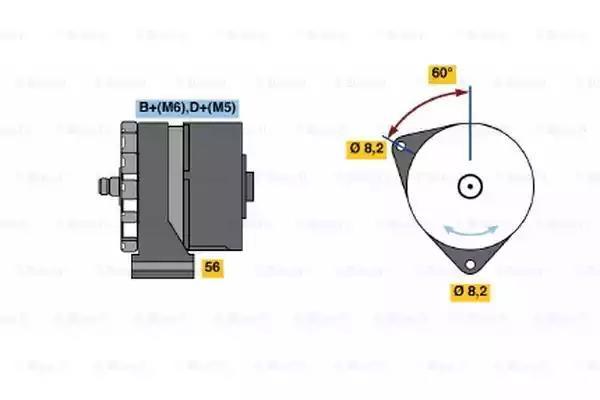 0 120 339 531 - Generaator