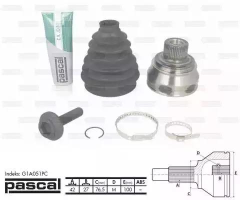 G1A051PC - Liigendlaager, veovõll