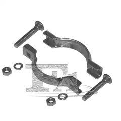 Clamp Set, exhaust system