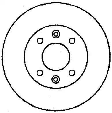 561591J - Brake Disc