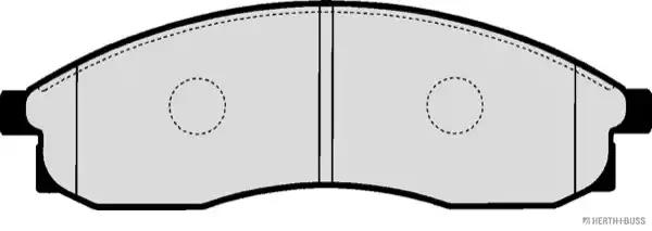 J3601091 - Brake Pad Set, disc brake