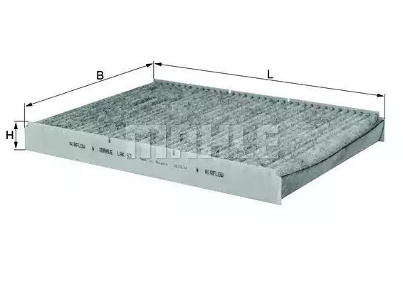 LAK 63 - Filter, interior air