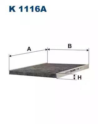 K1116A - Filter, salongiõhk
