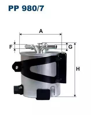 PP980/7 - Fuel filter