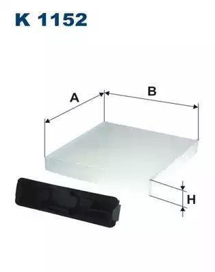 K1152 - Filter, salongiõhk